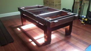Correctly performing pool table installations, Fort Collins Colorado
